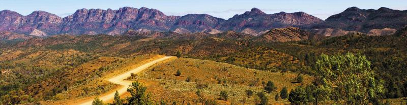 Eyre Peninsula in the Flinders Ranges, South Australia