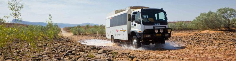 Adventure Tours Australia overland truck, Western Australia