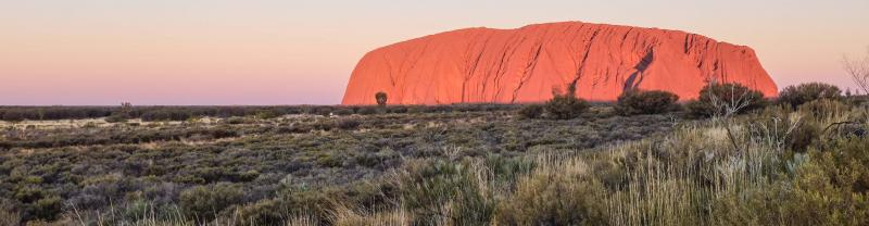 Uluru in the Australian Northern Territory