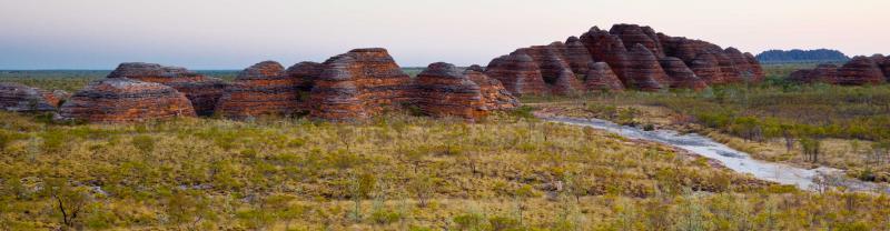 Purnululu National Park in the Kimberley, Western Australia