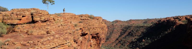 The Australian Outback - Kings Canyon