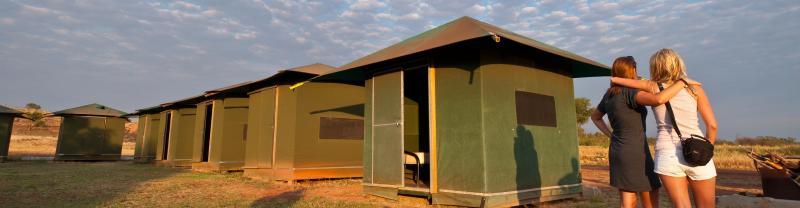 Banka-Banka campsite in the Northern Territory