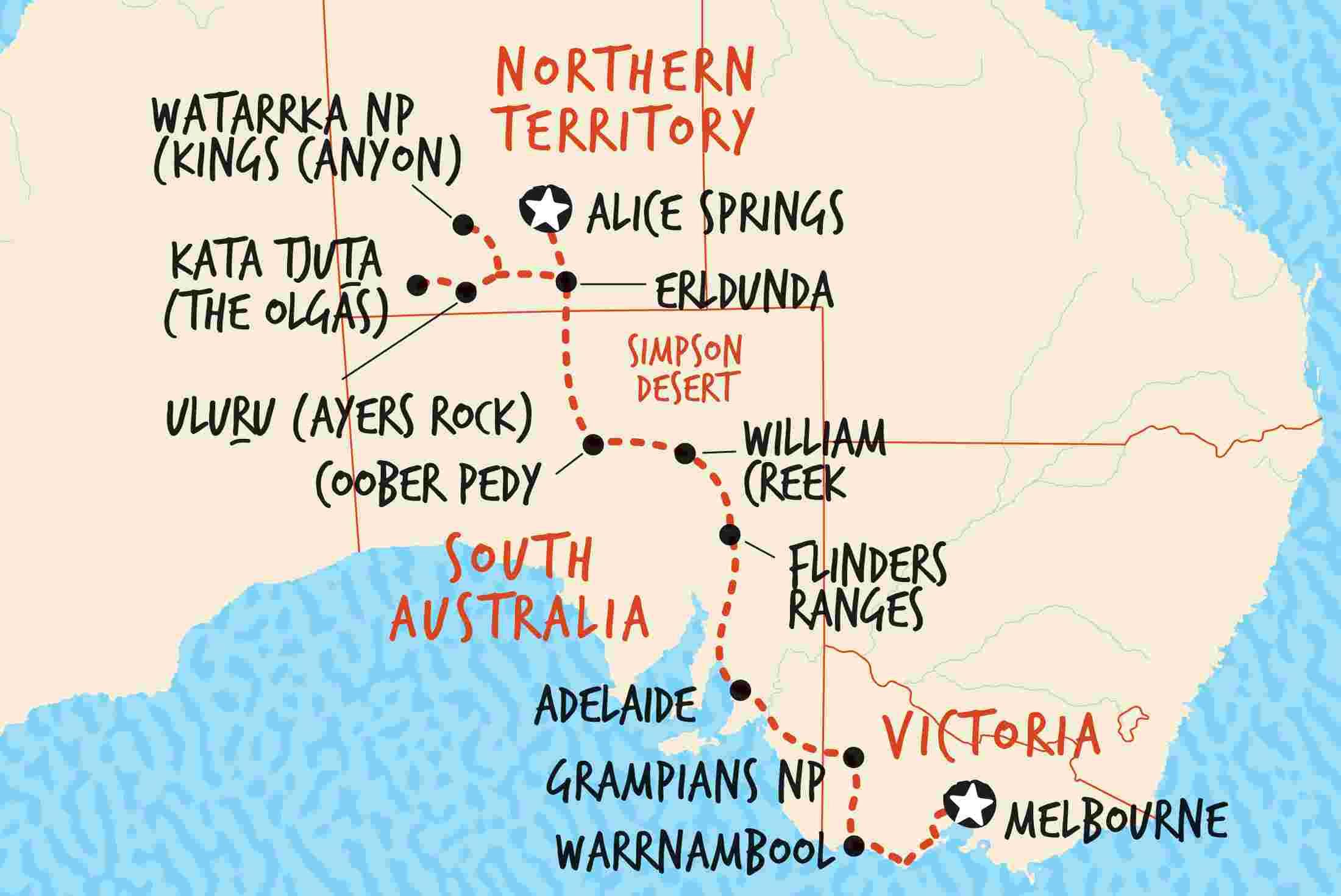 Australian Outback Tours & Trips | Adventure Tours Australia