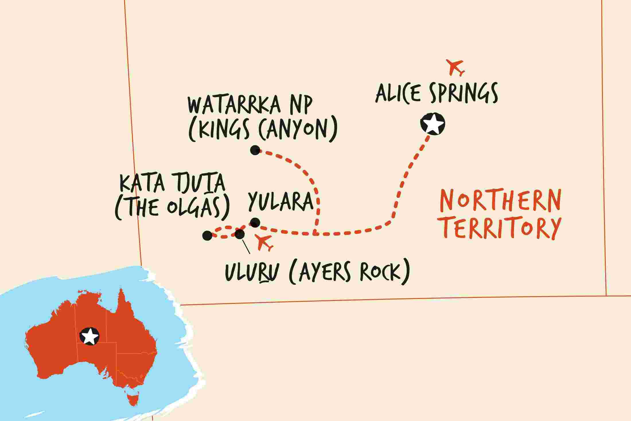 Australia Map Outback.Australian Outback Tours Adventure Tours Australia