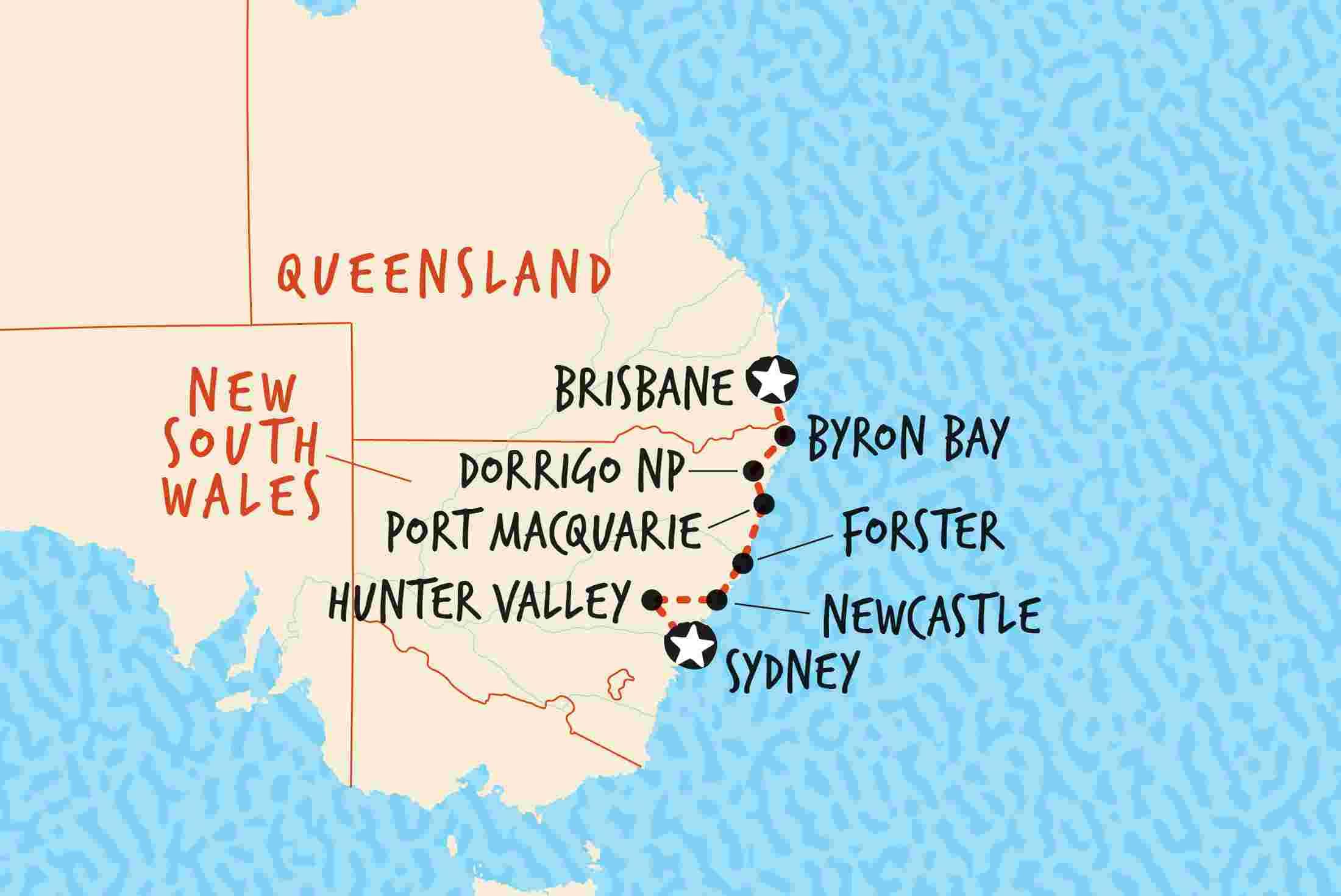 australia u0026 39 s east coast explorer  brisbane to sydney